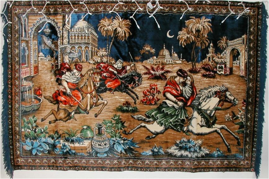 House Of Antique Rugs Or Tapestries